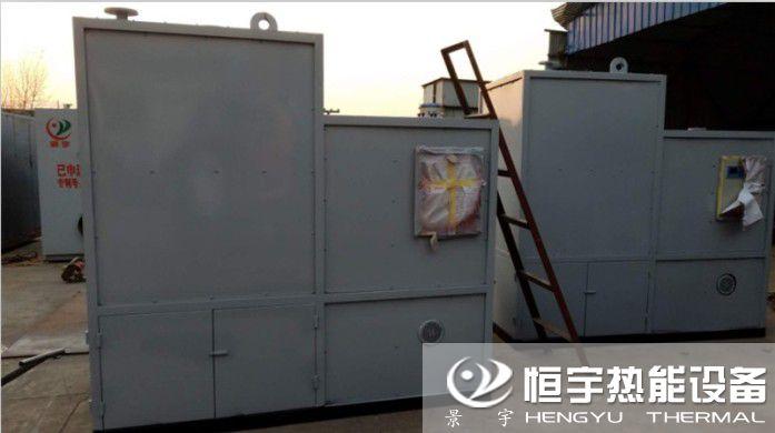 发往江西赣州生物质颗粒模温机建筑模板厂使用