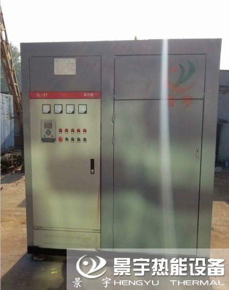 发往安徽安庆两台电加热蒸汽发生器