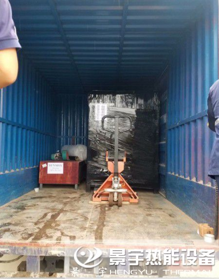 发往河南焦作蒸发量0.3吨燃气蒸汽发生器