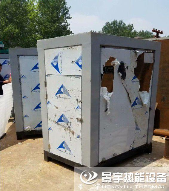 广东佛山燃气蒸汽发生器发货案例现场