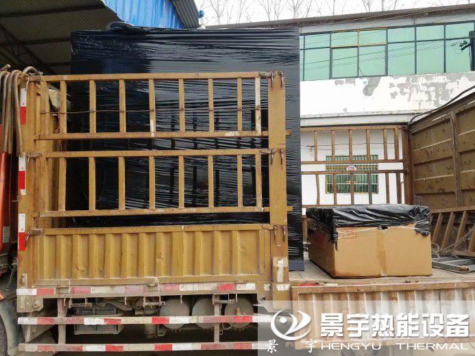 河南景宇喷淋式燃气蒸汽发生器发货照片案例