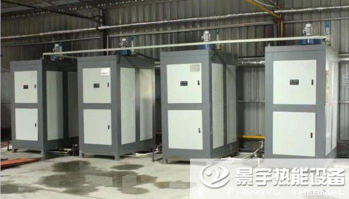 4台低氮燃气蒸汽锅炉发往浙江湖州